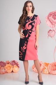 Модель 13551 черный+розовый Sandyna