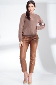 Модель 13913 серо-розовый (тигр) Sandyna