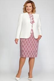Модель 1148 белый с розовым LaKona