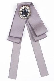 Модель Брошь 57001 серый Fashion Jewelry