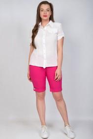 Модель 1829 белый+розовый TricoTex Style