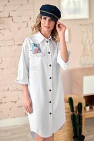 Модель 222 Белый джинс Marika