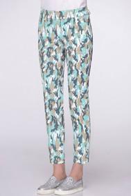 11652 бирюзовый хаки LeNata pants