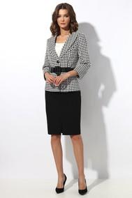 Модель 1266 черно-белый МиА Мода