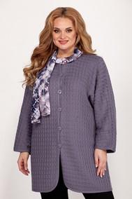 Модель 1011-1 серый+шарф Emilia