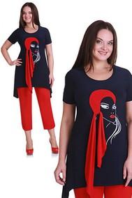 Модель 1111-1 сине-красный Andrea Style