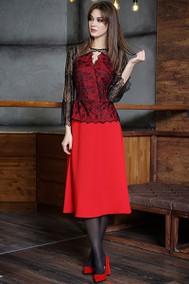 Модель 3355 чёрный+красный Fantazia Mod