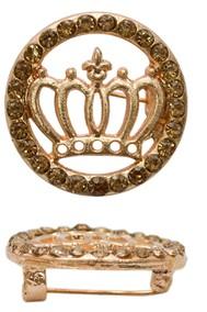 Модель 62305 корона золото Fashion Jewelry