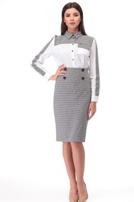 Модель 1026 серый+белый TawiFa