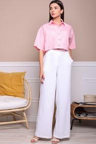 Модель 9029 белый+розовый AURA ofthe day