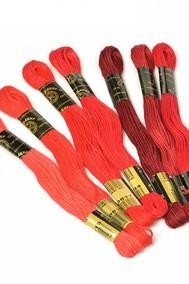 Нитки мулине  Цветик-семицветик  10 м. арт. ПНК набор 7 мотков №3- красный лепесток