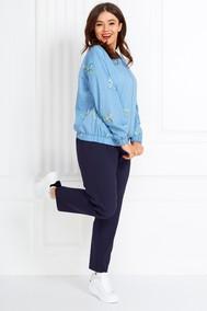 Модель 596 голубой Anastasia MAK