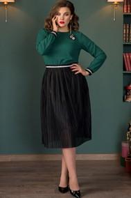 Модель 724 зеленый+черный Галеан Cтиль