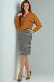 Модель 8102 серо-коричневый Viola Style