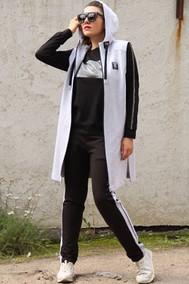 Модель 1374 светло-серый с чёрным Runella