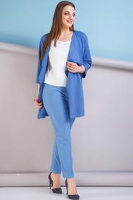 Модель 185 синий с молочным Anastasia