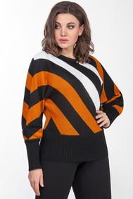 Модель 554 черно-оранжевый Emilia