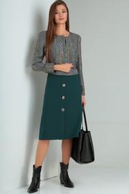 Модель 2653 серый+зеленый Viola Style