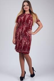 Модель 457 бордовые тона SVT-fashion