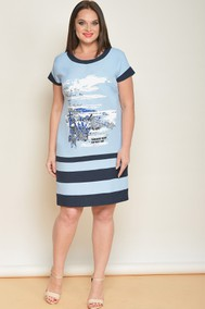 Модель 1411 голубой с синим Lady Style Classic