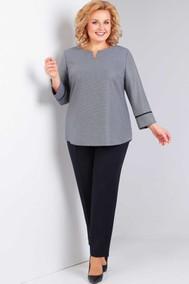 Модель 733 серый, чёрный Милора-стиль