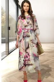 Модель 1008-5 розовый+серый +коричневый МиА Мода