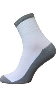 Модель 2330 белый-светло серый 031 Брестский чулочный комбинат