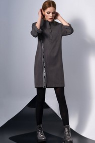 Модель 0131-2 темно-серый DiLiaFashion