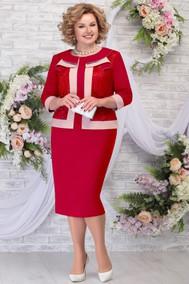 Модель 5784 красный+пудра Ninele
