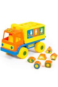 64394 Логический грузовичок Миффи с 6 кубиками №1