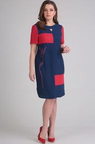 Модель 0831 синий+красный Viola Style