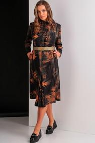 Модель 1615 черный +оранжевый Elletto
