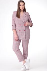 Модель 606 серо-розовый Anastasia MAK