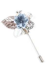 Модель Брошь 1941 голубой Fashion Jewelry