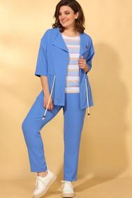 Модель 584 голубой+полоска Vilena fashion