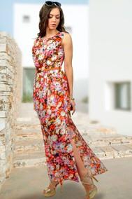 782-10 красные цветы МиА Мода