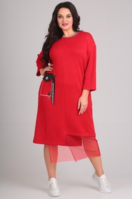 Модель 0084 красный Andrea Style