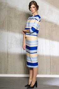 Модель 1012 полоски с синим Anna Majewska