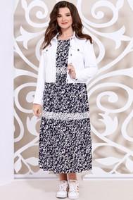 Модель 4936-3 бело-синий Mira Fashion