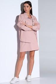 Модель Af-159 розовый Andrea Fashion