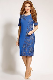 4256 синий Mira Fashion