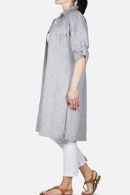 Модель 589 серый меланж Mirolia