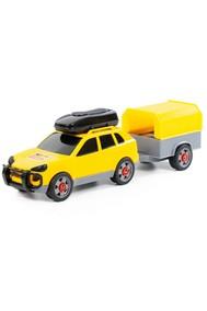 Автомобиль легковой с прицепом (в сеточке)