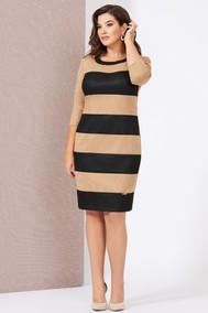 Модель 5014 бежевый+черный Mira Fashion