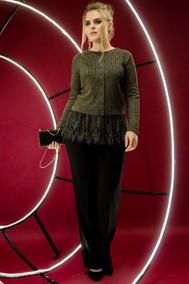 Модель 11150 черный+оливка S. Malich for woman