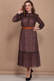 Модель 393 коричнево-бордовый Bonna Image