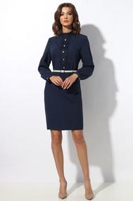 Модель 1274 темно-синий в полоску МиА Мода