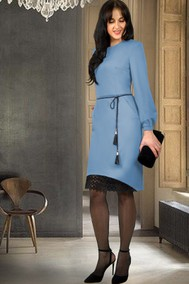 Модель 858-10 голубой МиА Мода