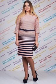 Модель 419 розовые тона+полоска SVT-fashion