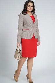 Модель 856 разноцветная строчка с красным Alani